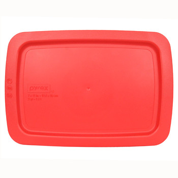 Pyrex C-232-PC Red 2qt Replacement Lid Cover