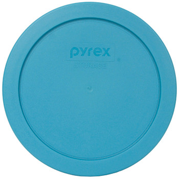 Pyrex 7201-PC Teal Blue Round Plastic Replacement Lid Cover