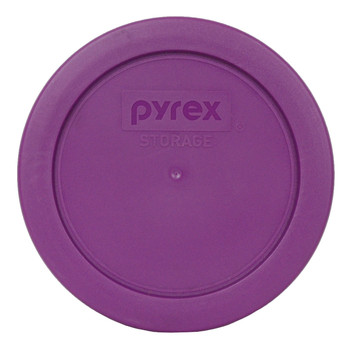 Pyrex 7200-PC Thistle Purple Round Plastic Replacement Lid Cover