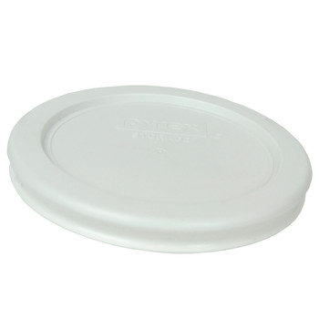 Pyrex 7202-PC White Round Plastic Replacement Lid Cover