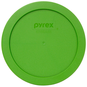Pyrex 7201-PC Lawn Green Round Plastic Replacement Lid Cover