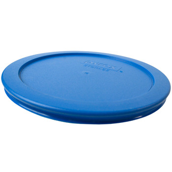 Pyrex 7201-PC Marine Blue Round Plastic Replacement Lid Cover