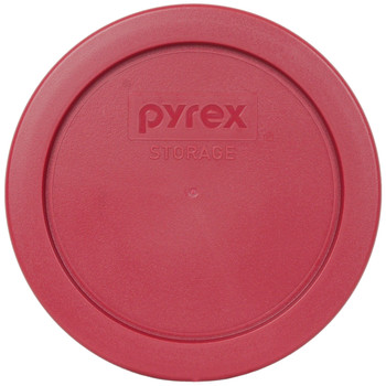 Pyrex 7200-PC Berry Red Round Plastic Replacement Lid Cover