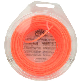 Desert Extrusion Lonoiz LN095PL .095in Orange Spiral Lawn and Garden Trimmer Line