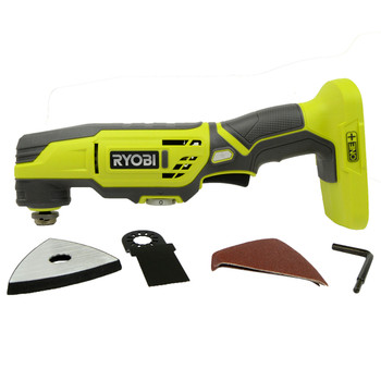 Ryobi P343 18V ONE+ Oscillating Lithium-Ion Cordless Tool w/ Multi-tool Attachment, Tool Only