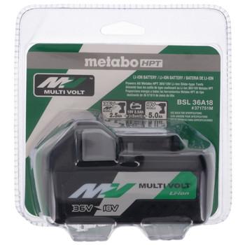 Metabo HPT/Hitachi 371751M 18 - 36V 2.5 Ah/5.0 Ah MultiVolt Li-Ion Battery Pack