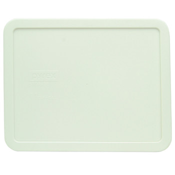 Pyrex 7212-PC White Rectangle Food Storage Replacement lid Cover