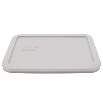 Pyrex 7210-PC Jet Gray Food Storage Rectangle Replacement Lid Cover
