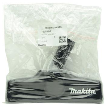 "Makita 123539-7 8"" Black Floor Nozzle Replacement Part for XLC02ZB"