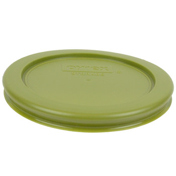 Pyrex 7202-PC Olive Green Round Plastic Replacement Lid Cover