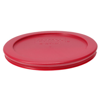 Pyrex 7200-PC Sangria Red Round Plastic Replacement Lid Cover