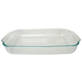 Pyrex 233 Square 3qt Casserole Baking Dish & 222 2qt Rectangle Glass Casserole Baking Dish