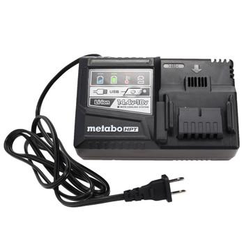 Metabo HPT/Hitachi UC18YSL3 18V Li-Ion Rapid Battery Charger w/ USB Port