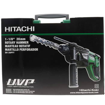Metabo HPT/Hitachi DH28PFY 1-1/8-in Corded SDS Plus Low Vibration Rotary Hammer