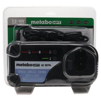 Metabo HPT/Hitachi UC18YRL 7.2V-18V NiCd NiMH Li-Ion Battery Charger
