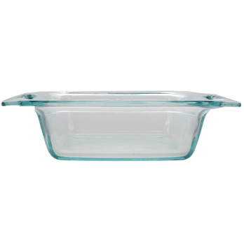 Pyrex C-222 Square Clear Glass Food Storage Casserole Baking  Dish