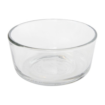Pyrex Simply Store 7200 2-Cup Glass Storage Bowl and 7200-PC 2-Cup Sour Cream Lid Cover (2-Pack)