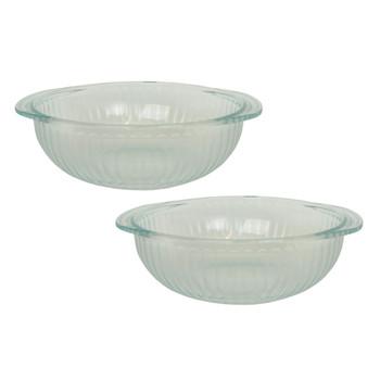 Pyrex 024-B 2qt Glass Casserole Dishes (2-Pack)