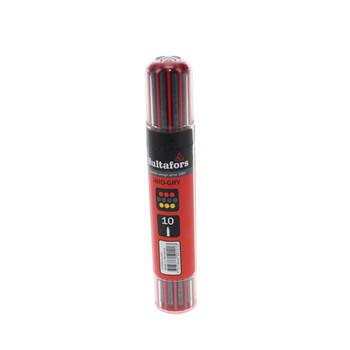Hultafors 650120 Graphite & Chalk Dry Marker Refill Dispenser for 650100 (4-Pack)