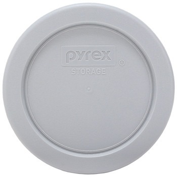 Pyrex (2) 7202-PC Jet Grey, (2) 7200-PC Turquoise, (2) 7201-PC Jet Grey, & (1) 7402-PC Orange Plastic Food Storage Replacement Lids