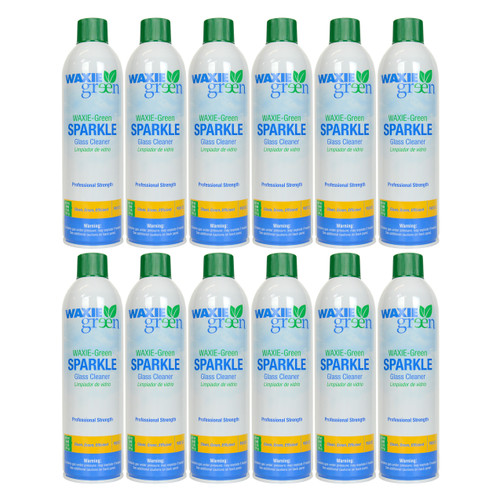 Waxie Green Sparkle 16-ounce Glass Cleaner (Case of 12)