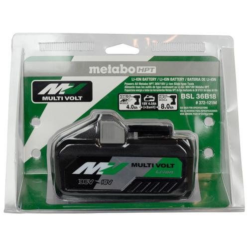 Metabo HPT/Hitachi BSL36B18 18/36V 4.0Ah/8.0Ah MultiVolt Li-Ion Battery Pack
