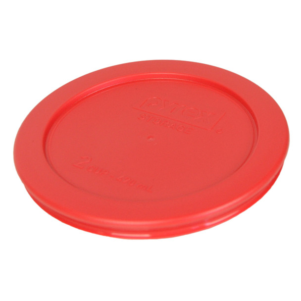 Green Red, 6 6 Pyrex 7202-PC 1 Cup Round Plastic Storage Container Lids 12PK