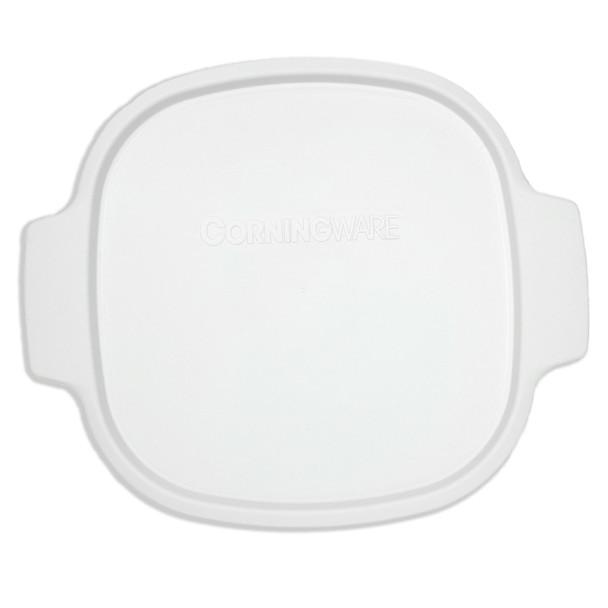 Corningware A-2-PC 2Qt/3Qt White Square Plastic Lid
