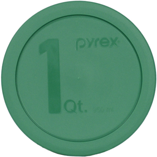 Pyrex 322-PC Green 1 Quart, 950ml Round Plastic Replacement Lid