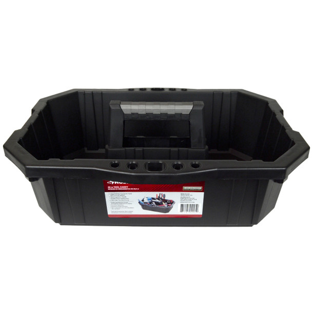 Husky 538948 Single Compartment Professional Black Tool Caddy