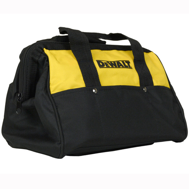 "Dewalt 13"" Mini Black and Yellow Contractor Tool Bag"