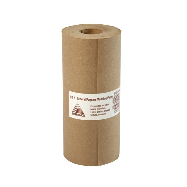 Trimaco 12906 6in x 180ft Brown Masking Paper