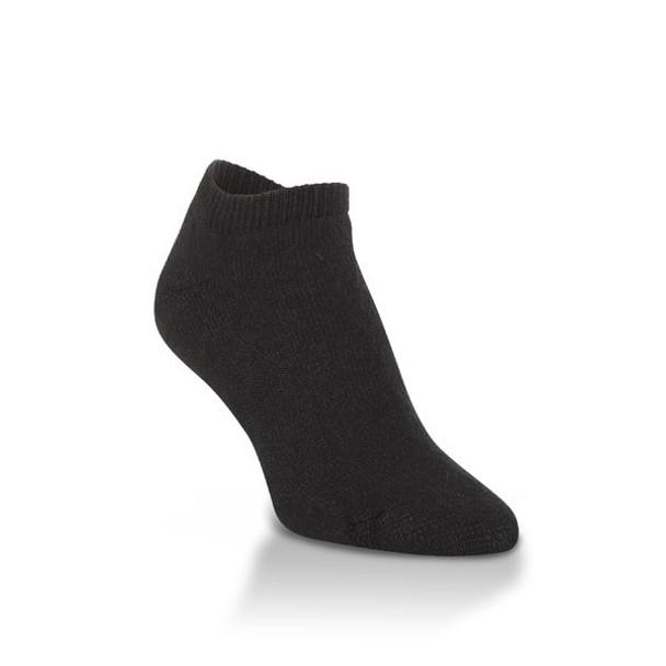 Worlds Softest Large Black Low Cut Unisex Socks