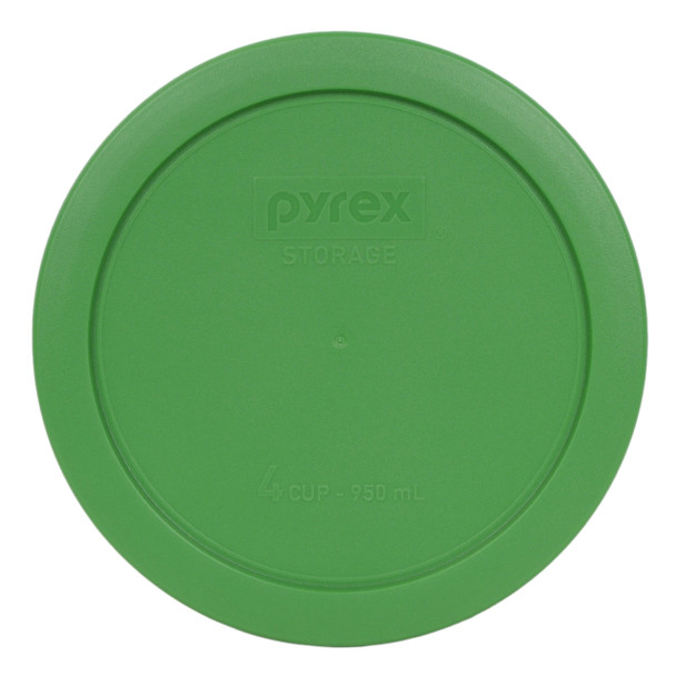 Pyrex 7201-PC Clover Green 4 Cup Round Plastic Replacement Lid