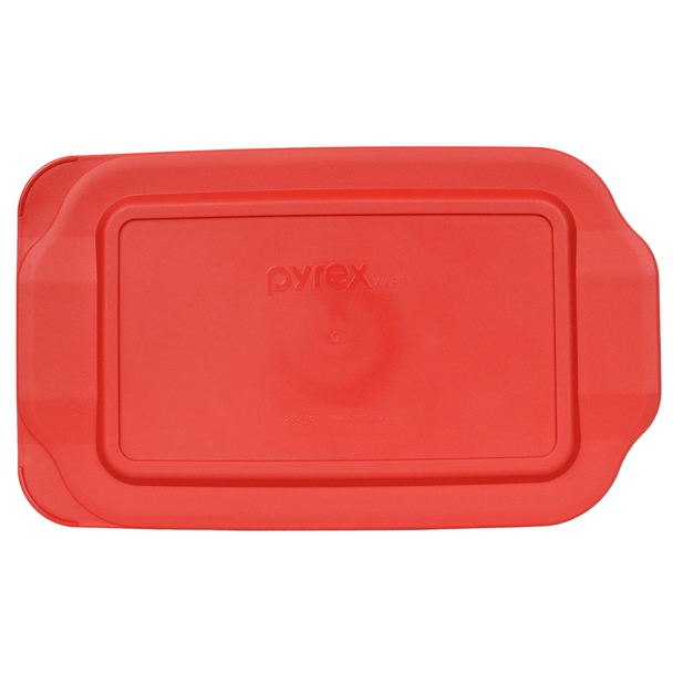 Pyrex 232-PC Red 2qt, 2L 7 x 11 Rectangle Plastic Replacement Lid