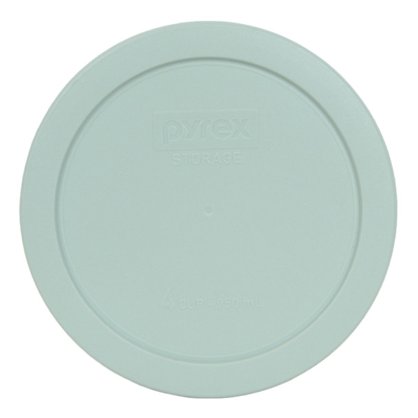 Pyrex 7201-PC Muddy Aqua 4 Cup, 950mL Round Plastic Replacement Lid