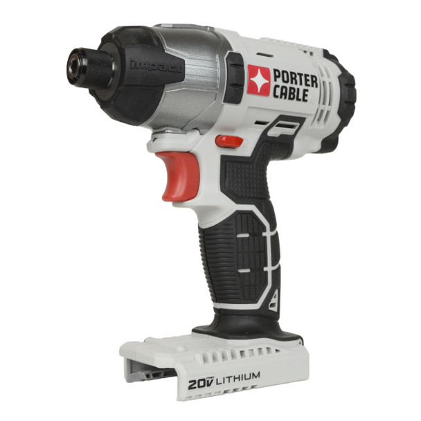 "Porter Cable PCC641 20V 1/4"" Hex Lithium Ion Impact Driver, Tool Only"