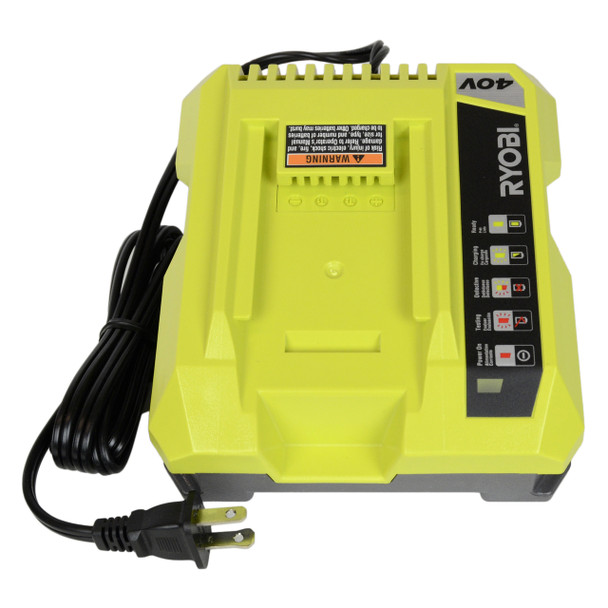 Factory Reconditioned Ryobi OP401 40V Lithium Ion Battery Charger