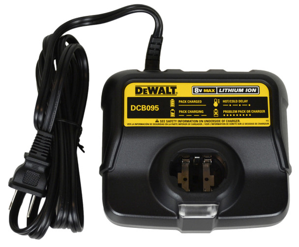 Dewalt DCB095 8V Lithium Ion Battery Charger
