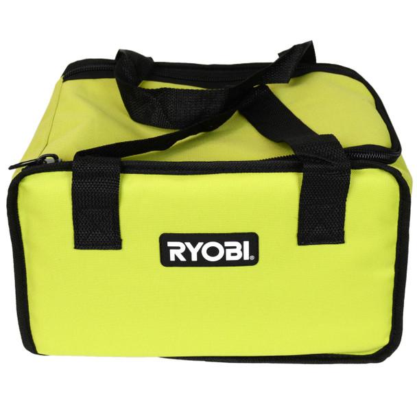 "Ryobi 12"" Green Tool Bag for Ryobi Cordless Tools and Accessories"