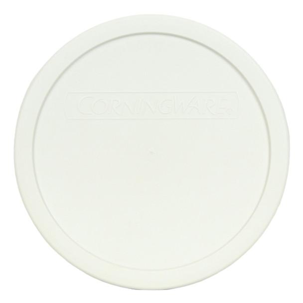 CorningWare F-5-PC 1.5 Qt Round French White Plastic Lid