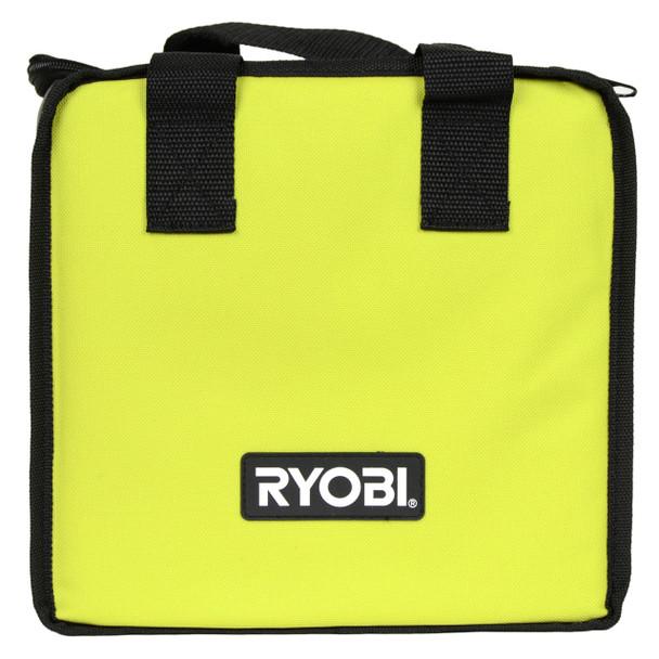 "Ryobi Tools 10"" x 6"" x 8"" Heavy Duty Green Tool Bag/Lunch Tote"
