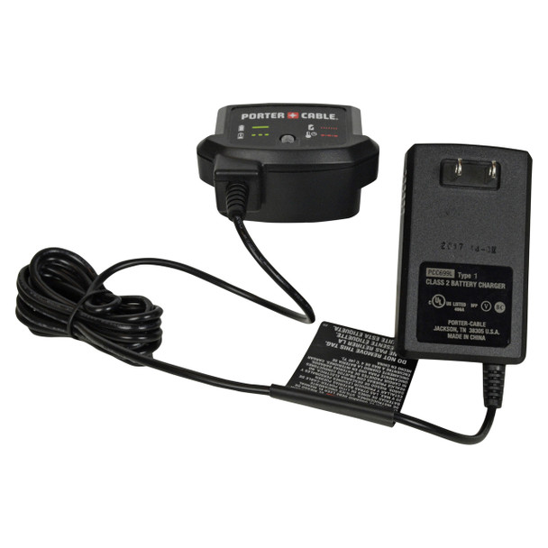 Porter Cable PCC699L 20V Max Lithium Ion Battery Charger