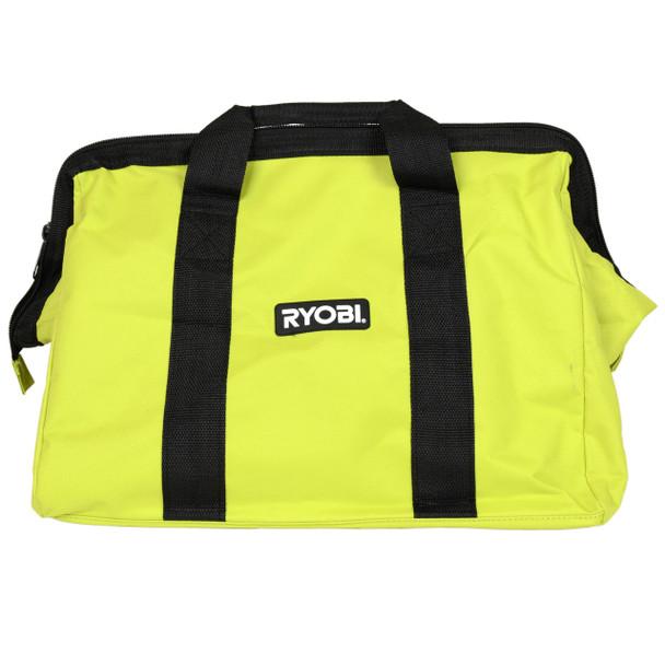 "Ryobi logo stitched 18"" tool bag for 6 tools"