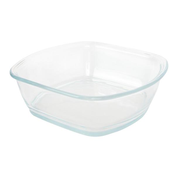 Pyrex clear glass 8100 square storage bowl