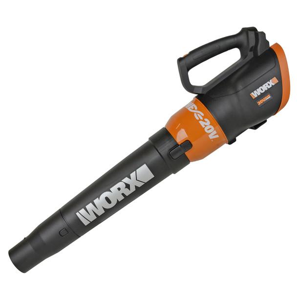 Worx WG546 Turbine 20V Li-Ion Cordless Leaf Blower, Tool Only