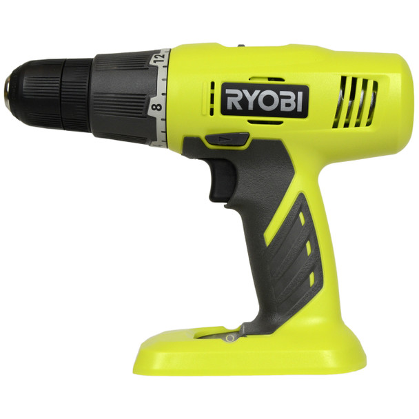 """Ryobi P209 ONE+ 18V 3/8"""" Lithium Ion Drill Driver, Tool Only"""
