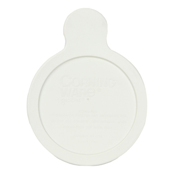 Corningware P-150-CPC 15oz White Plastic Replacement Lid