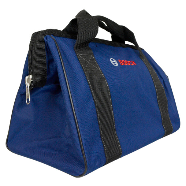 "Bosch 16"" x 11"" x 9"" Dark Blue Canvas Contractor Tool Bag"