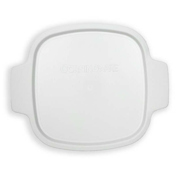 Corningware A-1-PC 1.5 Qt/1.4 L White Square Plastic Lid